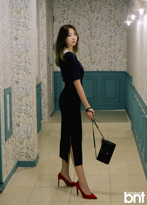 Elegance Paris X 가수 공민지